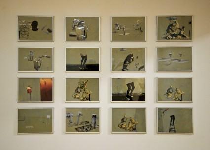 Eckhard Kremers 2013 Miniaturen Ausstellung Ludgwig Museum Koblenz [miniatures in exhibition]