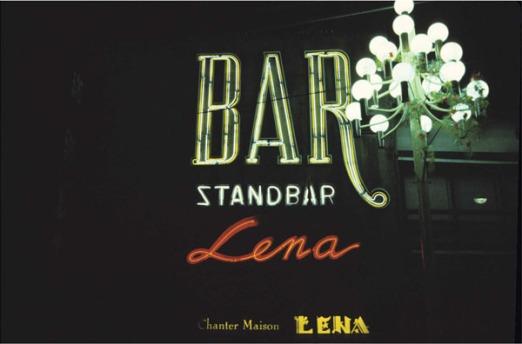 Eckhard Kremers 1979 Bar Standbar Chanter Maison Lena [スタンドバー・レナ]