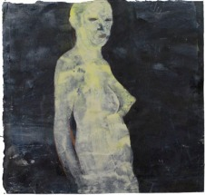Eckhard Kremers 1989 Puppe [doll] 76x79cm