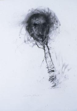 Eckhard Kremers 1996-2000 ...vom Vergessen für Akira Ueda 2 [...of oblivion for Akira Ueda 2] 70x100 cm