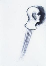Eckhard Kremers 1996 ...vom Vergessen 17 [...of oblivion 17] 70x100cm