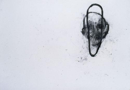 Eckhard Kremers 1996 ...vom Vergessen 19 [...of oblivion 19] 70x100cm