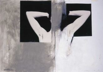 Eckhard Kremers 1998 Ohne Titel Ohne Kopf [without title without head] 70x100cm
