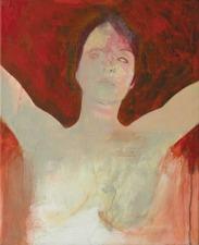 Eckhard Kremers 1999 Portrait rot [portrait red] 55x45cm