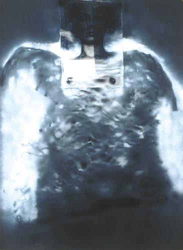 Eckhard Kremers 1999 Pulloverengel [pullover angel] 100x78cm