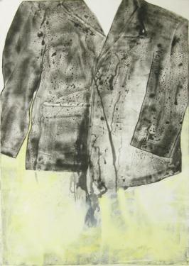 Eckhard Kremers 1999 Vaters Jacket [father's jacket] 100x70cm