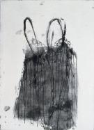 Eckhard Kremers 2000 Dessous noir 1 [lingerie black 1] 90x60cm
