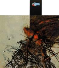 Eckhard Kremers 2000 Fra Girolamo 232x200cm