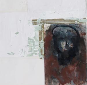 Eckhard Kremers 2001 ...vom Vergessen Kopf [...of oblivion head] 70x62cm