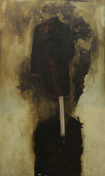 Eckhard Kremers 2002 Asphalt Rock [asphalt coat] 200x120cm