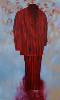 Eckhard Kremers 2006 Gott Vater [god the father] 200x120cm