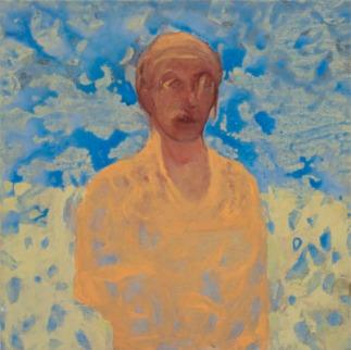 Eckhard Kremers 2010 Ritratto romano 75x75cm