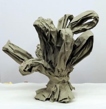 Eckhard Kremers 2011 Bouquet II Papier [bouquet ii paper] 3