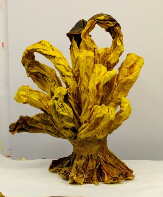 Eckhard Kremers 2011 Bouquet III Wachs [bouquet iii wax] 1