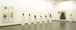 Eckhard Kremers 2014 Köpfe ...vom Vergessen The Adventurer Ausstellung im Marburger Kunstverein [exhibition heads ...of oblivion the adventurer]