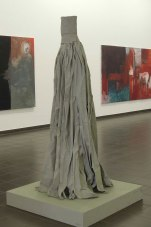 Eckhard Kremers 2014 Rock X Papier Ausstellung im Marburger Kunstverein [skirt x paper in exhibition]