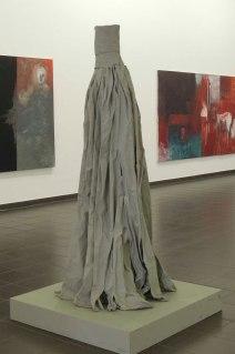 Eckhard Kremers 2014 Rock X Papier Ausstellung im Marburger Kunstverein [skirt x paper in exhibition]