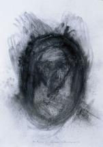 Eckhard remers 1997 ...vom Vergessen für Akira Ueda [...of oblivion for Akira Ueda] 100x70cm